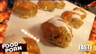 Food Porn: Buffalo Chicken Meatballs Recipe