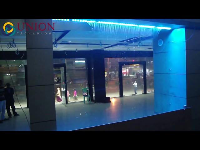 Màn nước nghệ thuật  - Trung tâm thương mại Myama