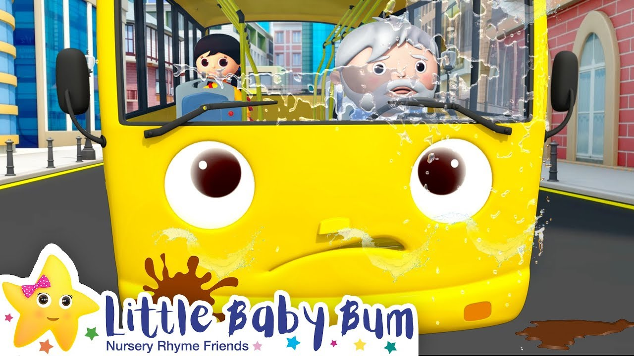 Wheels on The Bus | Wheels on The Bus Compilation +More Nursery Rhymes | Learn with Little Baby Bum
