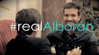 #RealAlborán Xavi Martínez con Pablo Alborán