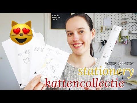 Mijn eigen stationery kattencollectie! 😻| Nouk-san
