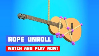 Rope Unroll · Game · Gameplay