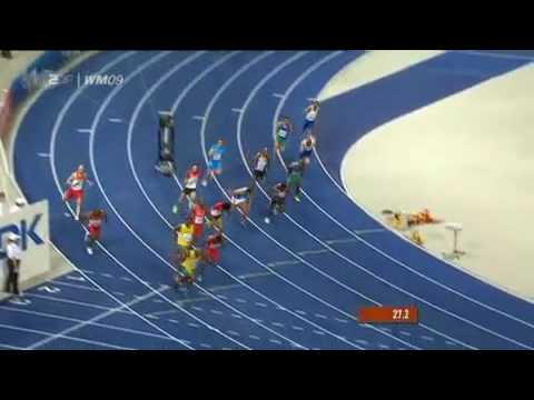 [HD] Jamaica Wins Gold Over 4 x 100 Meters 2009 Berlin Relay / Staffel