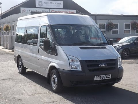 2009 Ford Transit 9 Seater Accessible Minibus Ro59 Fkz Youtube