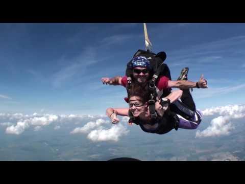 Tandem Skydiving @ Mid America Sport Parachute Club, Haley Wessler
