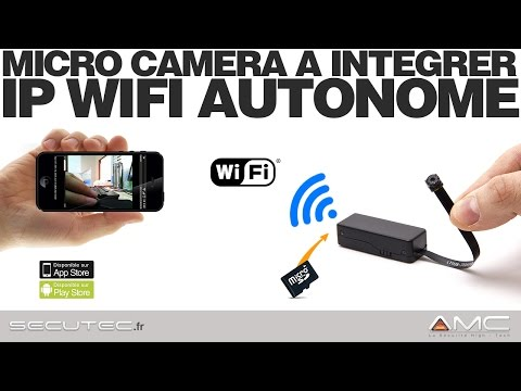 Mini Cam/éra Espion Portable Full HD 1080P ZTour Cach/ée Espion Nanny avec Vision Nocturne et D/étection de Mouvement pour Cam/éra de Surveillance de S/écurit/é Micro Int/érieure Ext/érieure