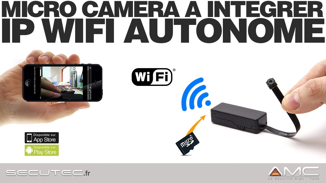 Camera Surveillance Exterieur Espion Camera Espion Sans Fil Wifi A Integrer Secutec Fr