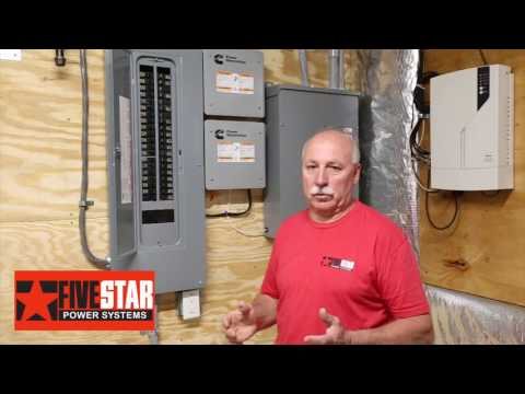 Home Generator Installation (Cummins RS20A) by Five Star Power Systems