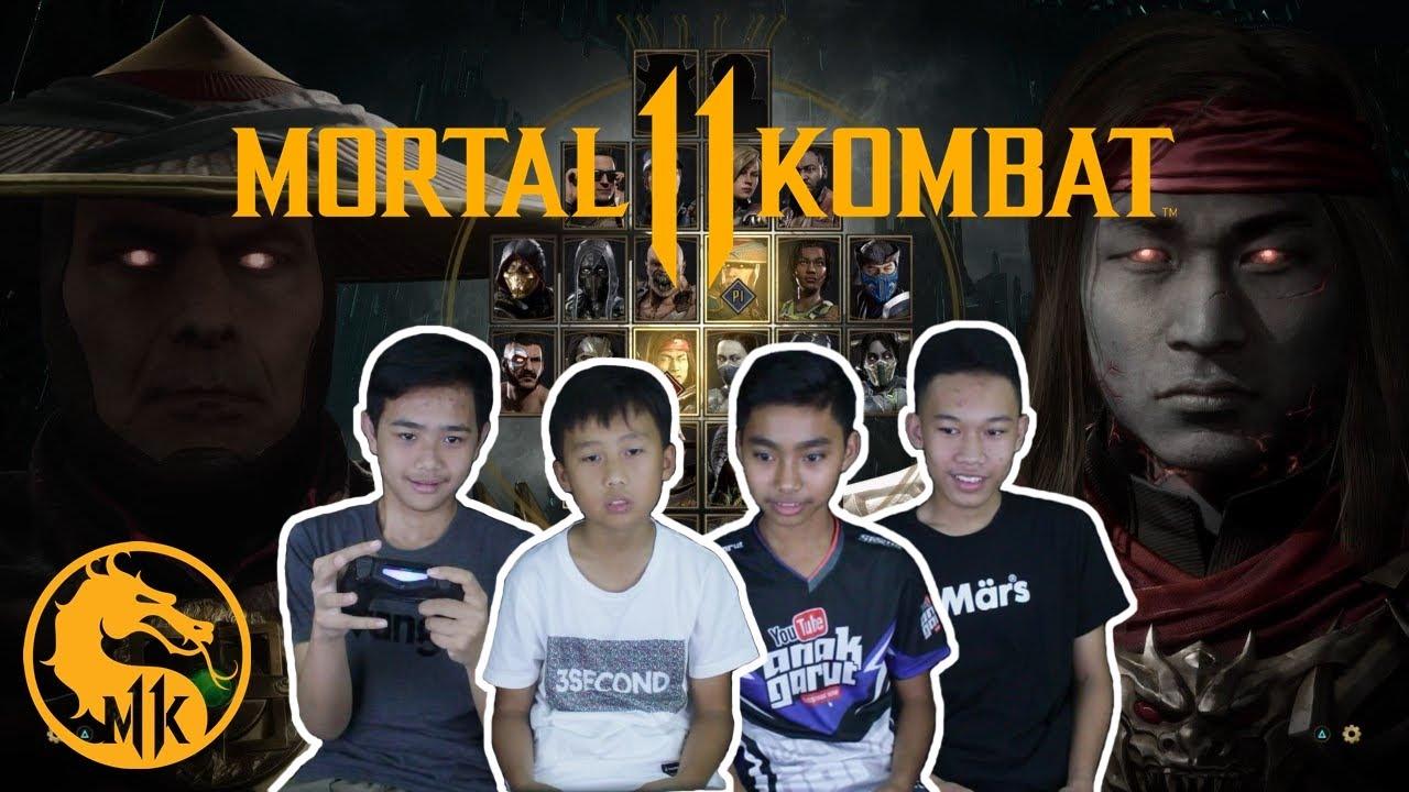 GIMANA SIH CARANYA FATALITY? - Mortal Kombat 11 Tournament Indonesia (PS4)