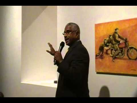 Felipe Luciano at Bronx Museum Speaks About Young Lords, Last Poets and More!