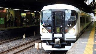 2018/10/19 【回送】 E257系 M-107編成 大宮駅