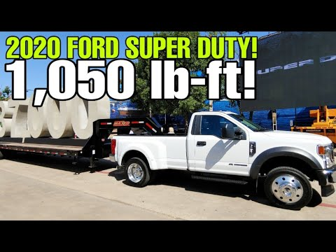 2020 FORD SUPER DUTY LIVE! Horsepower, Torque, And Towing!