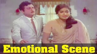 Sangamam Movie : KR Vijaya, Emotional By Gemini Ganesan