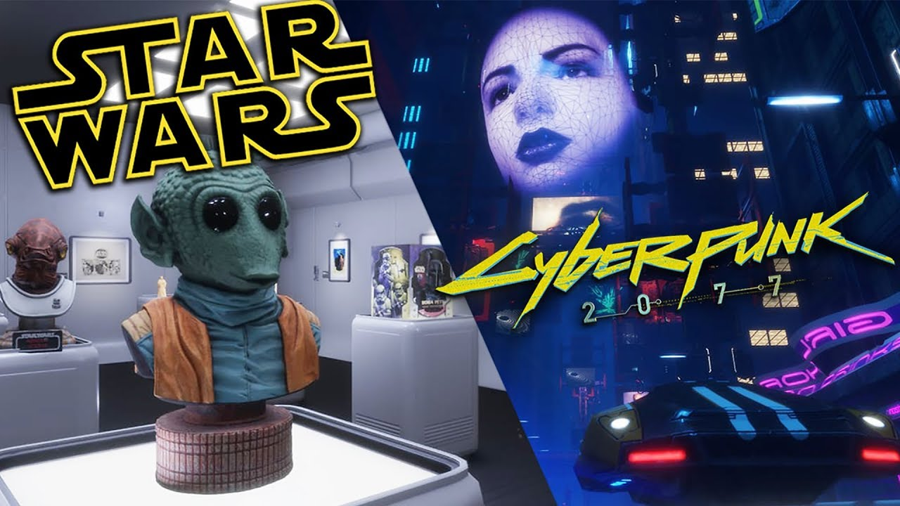 EXPLORING A STAR WARS MUSEUM IN VIRTUAL REALITY WITH NATHIE!! Sansar VR Oculus Rift
