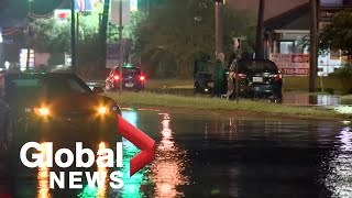 Tropical storm Claudette forms off Louisiana: NHC