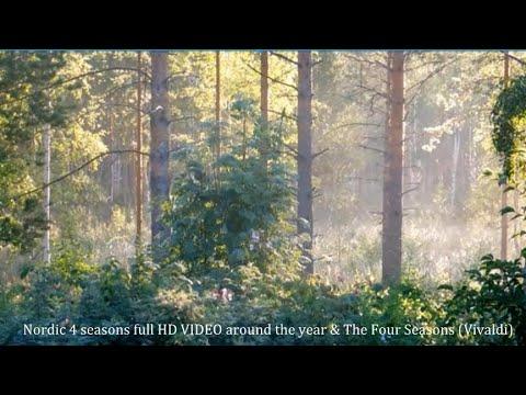 Vivaldi ~ Four Seasons complete &  4 Nordic seasons full HD