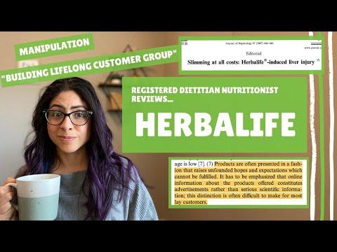 Herbalife | Registered Dietitian Nutritionist Reviews