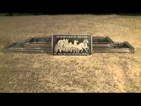 Update on the Fake Stagecoach Silver Bars