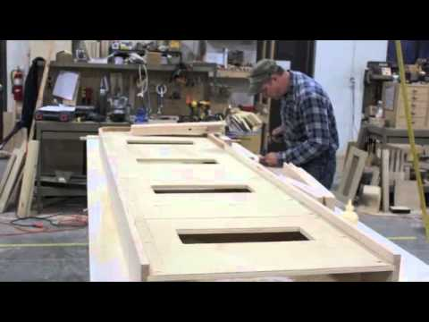 Hand Crafted Shuffleboard Table Youtube