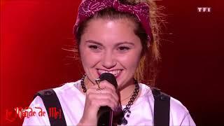 The Voice (France) :  Renata ~ Tough Lover  (Etta James) 🎤