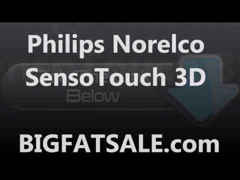 norelco-sensotouch-3d:-norelco-shavers