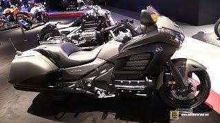 2015 honda gold wing f6b 40th anniv edition walkaround 2014 eicma milan motorcycle exhibition