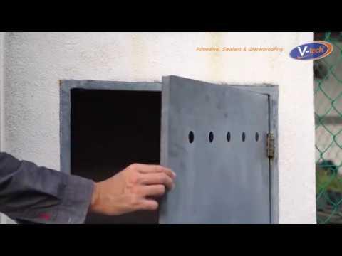 Metal weld/rust repair with Epoxy (VT-140)