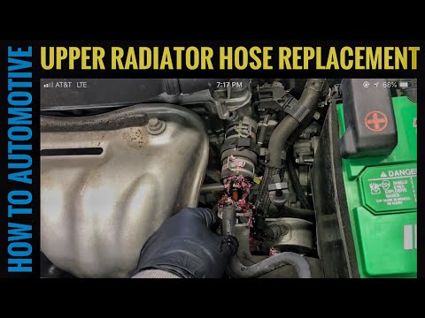 How to Replace the Upper Radiator Hose with Vent Line on a 2006-2012 Toyota RAV4 with 2.5L Engine