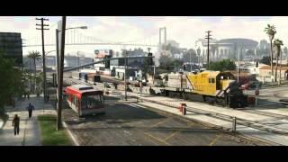 """"""" Segundo trailer"""" de Grand theft auto 5 trailer oficial (sub Español) full HD  = InfoGames3000"""