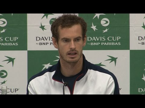 Andy Murray Press Conference - Overcomes Injury To Set Up Decisive Fifth Rubber In Davis Cup Semi