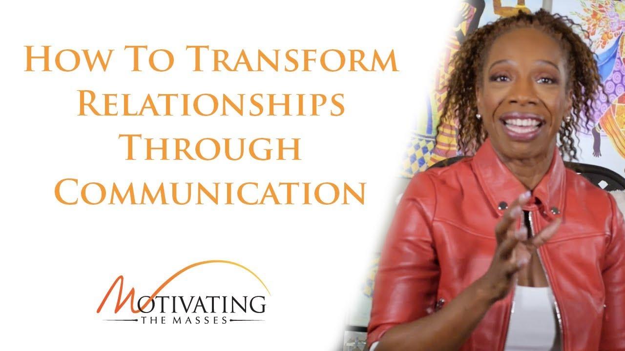 How To Transform Relationships Through Communication - Lisa Nichols