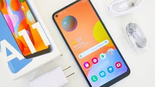 Samsung Galaxy A11 Unboxing & First Impressions!