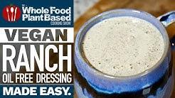 MUST HAVE OIL FREE VEGAN SALAD DRESSING RECIPE » oil free, sugar free, nut free hemp seed ranch