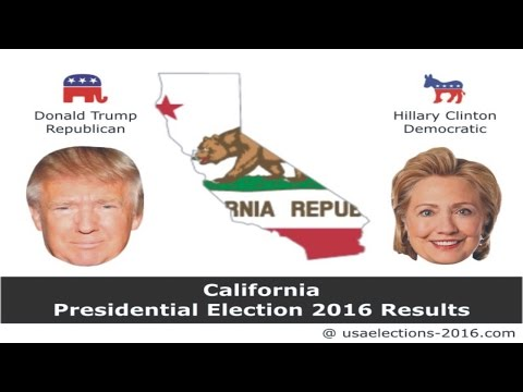 California Presidential Election 2016 Results LIVE Updates