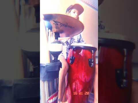 Conga + Hihat = Exercícios - Control Exercises - Percussion Lesson - Letícia Salgueiro Percussão