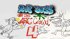 Rob Boss and the Art Crowd #04 | Call in and paint mit Philipp Jordan & Etienne