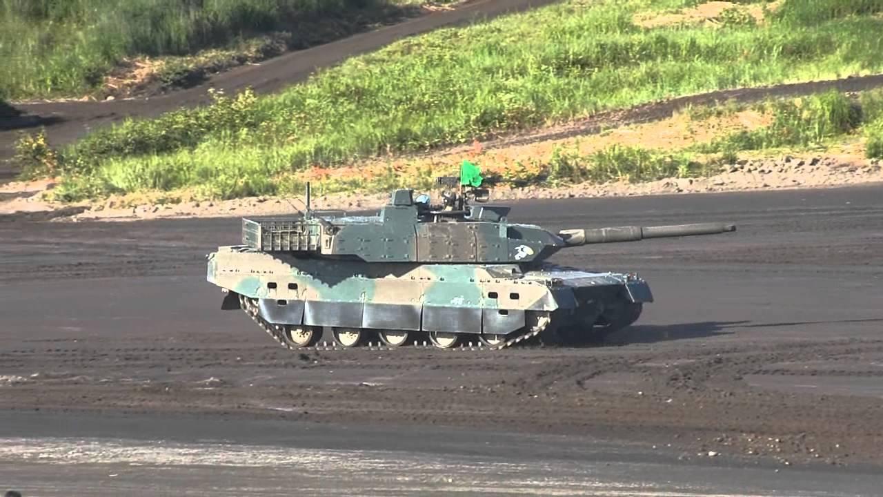 陸上自衛隊 10式戦車 - YouTube