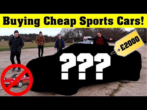 £2000 Cheap Sports Car Challenge! *NO MX5s*