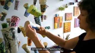 Faber-Castell: Gwyneth Leech zeichnet mit Pitt Artist Pens