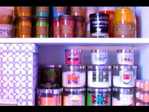 Candle Collection and Storage!