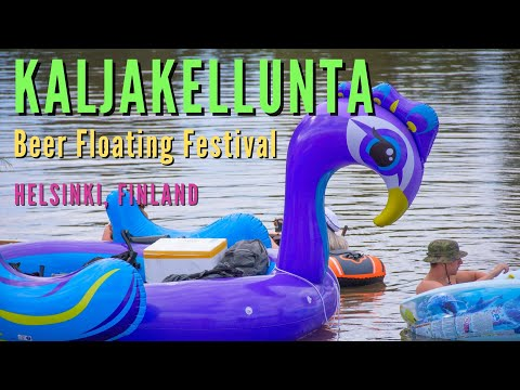 KALJAKELLUNTA - 2020 | Beer Floating Event | Helsinki, Finland