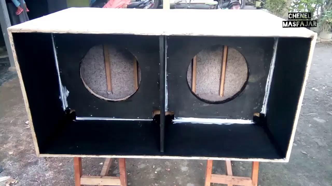 Ukuran Box Speaker 18 Inchi