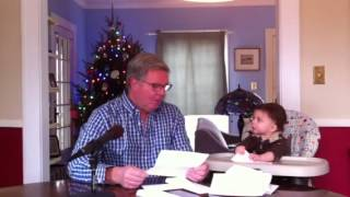 Cute Baby Reads the Mail with Poet George Bilgere. Hilarious!