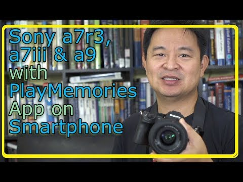 How to use smartphone as an external monitor for Sony a7r3 a7iii a9 and  a7siii cameras for Vlogging