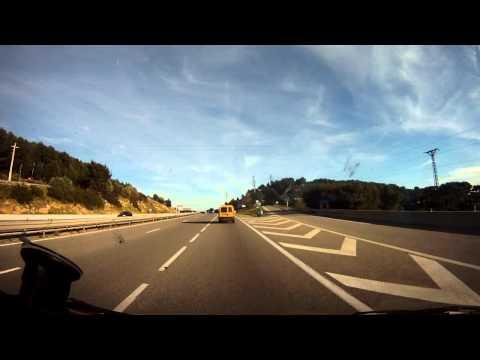 Driving In France-La Ciotat-Toulon