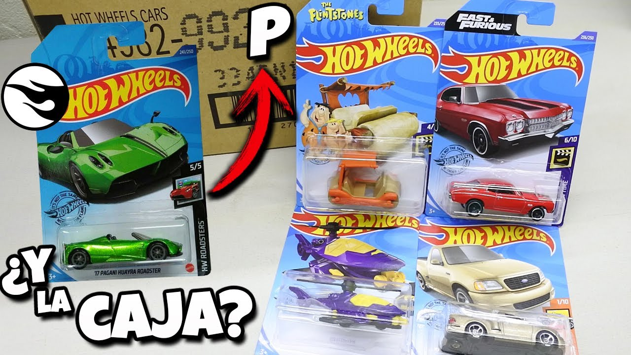 Las puras modas! - Hot Wheels Caja / Case P 2020, El troncomovil y F-150 SVT Lightning