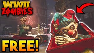 WW2 ZOMBIES: HOW TO GET 3 *FREE* JACK-IN-THE-BOX MONKEYS BOMBS! (6 TOTAL) // WW2 Zombies