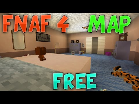 Minecraft - Five Nights At Freddy's 4 - Map Download! [Free]