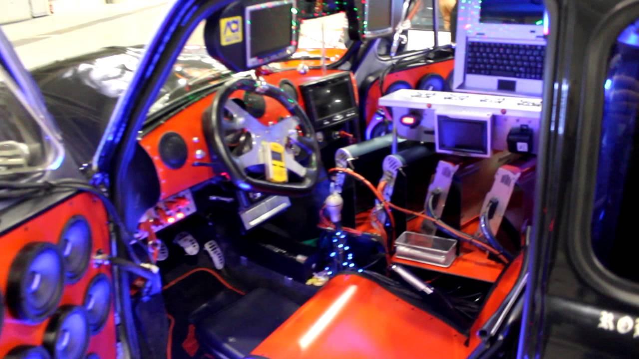 Fiat 500 Modificata Spaziale Fiera Tuning Roma