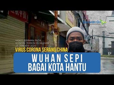 Video Kiriman Mahasiswa Aceh, Wuhan Sepi Bagai Kota Hantu